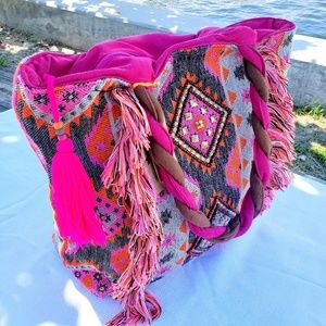 Colorful Large Tote